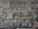 Außergewöhnlich ist die dichte archäobotanische Beprobung der Fundstelle.